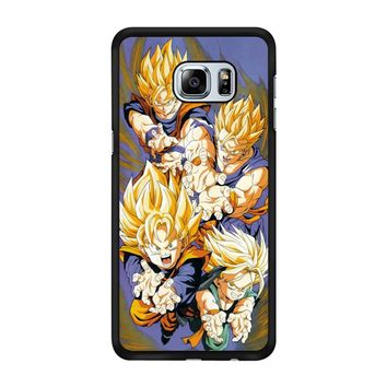Dragon Ball Super Sayans Samsung Galaxy S6 Edge Plus Case