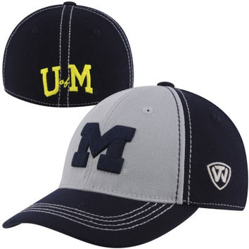 Top of the World Michigan Wolverines Youth Jockey Rookie One-Fit Hat - Navy Blue/Gray - http://www.shareasale.com/m-pr.cfm?merchantID=7124&userID=1042934&productID=520913971 / Michigan Wolverines