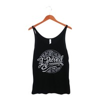Cursive Logo Black Slouchy Tank : IP00 : MerchNOW - Your Favorite Band Merch, Music and More
