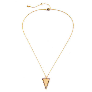 Triangle Accompany Necklace