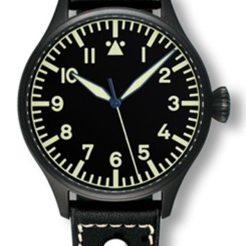 Archimede Pilot 42 H Black Automatic Watch UA7919-A7.1SW