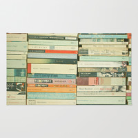 Bookworm Rug by Cassia Beck
