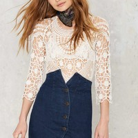 Courtshop Tonya Denim Skirt