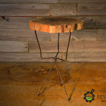 Amazing Natural Wood Occasional Table