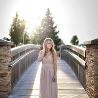 Like A Dream Maxi Dress TAN