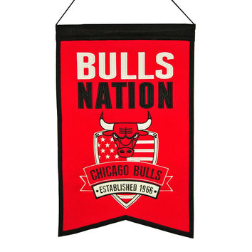 Chicago Bulls NBA Nations Banner (15x20)