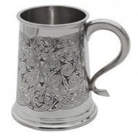 Celtic Spirals Tankard, Buy Unique Gifts From CultureLabel.com