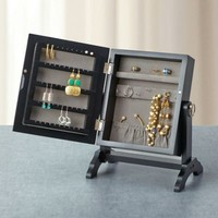 Contemporary Jewelry Armoire