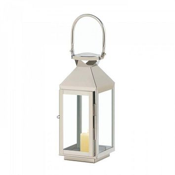 Small Manhattan Stainless Steel Lantern