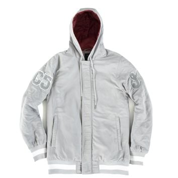 Quandary Hooded Jacket Grey