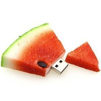 High Quality 4 GB Watermelon Shape USB Flash Memory Drive:Amazon:Computers & Accessories