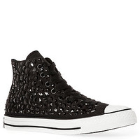 Converse Sneaker The Chuck Taylor All Star Rhinestone High Top in Black