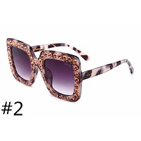 GUCCI new sunglasses women's diamond personalized fashion sunglasses #2