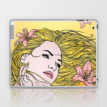 Lilies Laptop & iPad Skin by MIKART