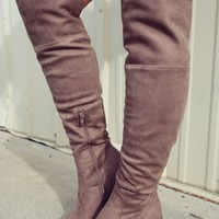 Keep Moving Boots: Taupe