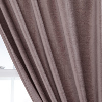 Textured Velvet Curtain