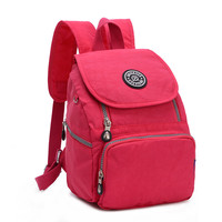 Waterproof Women Nylon Zipper Backpack Kiple Style Printing  Bookbags Schoolbags Child Girl School Bags Mochilas Bagpacks