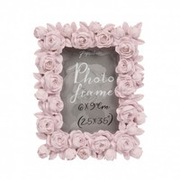 Rosa blush pink photo frame 2.5x3.5 - All Valentines - Valentine's Day