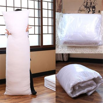 Pillow Hugging Long Pillow Inner Body Cushion Pad Anime Rectangle Sleep Nap Pillow Home Bedroom Bedding Accessories 150 x 50CM