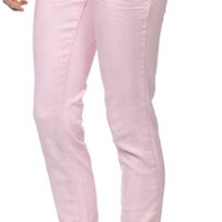 Almost Famous Pink Novelty Denim Skinny Jeans at Zumiez : PDP