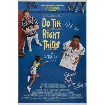 Do The Right Thing Movie Poster Standup 4inx6in