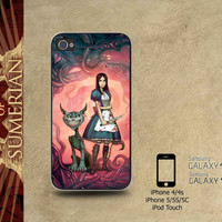 Alice Madness Returns Chesire Cat - iPhone cases 4/4S Case iPhone 5/5S/5C Case Samsung Galaxy S3/S4 Case