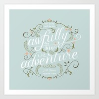 Big Adventure Art Print by Marta Harding Designs