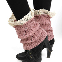 Knitted Leg Warmer