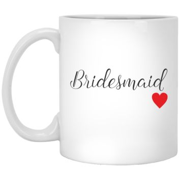 Bridesmaid Coffee Mugs - Wedding Party Coffee Mugs - Bridesmaid Gifts