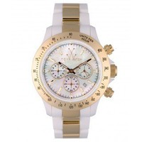 Heavy Metal Chrono Gold White