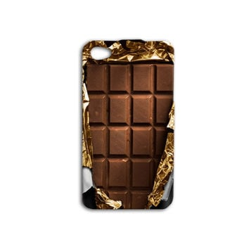 Willy Wonka Chocolate Bar Custom Case for iPhone 5/5s and iPhone 4/4s