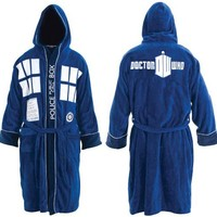 Doctor Who: Hooded TARDIS Robe | Doctor Who Shop