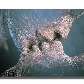Face to Face Love Canvas Art