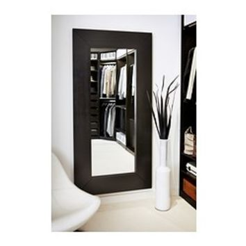 "MONGSTAD Mirror, black-brown - 37x74 3/4 "" - IKEA"
