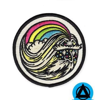 Rainbow Wizard Patch