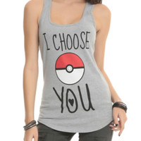 Pokemon I Choose You Girls Tank Top