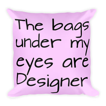 Designer Bags Square Pillow