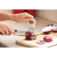 Stainless Steel Onion Slicer Vegetable Tomato Holder Cutter