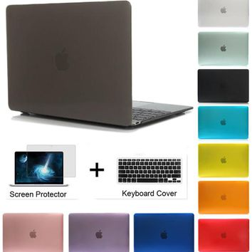 Crystal/Matte Hard Full Housing Surface Protective Laptop Cover Case for Apple Macbook Pro 13 Retina 13 Air 13 inch with Touch B