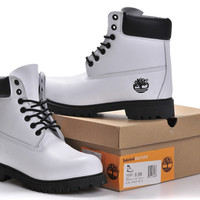 """""""Timberland"""" Boos With Fur Upper Leather"""
