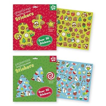 Holiday Christmas Scratch and Sniff Stickers