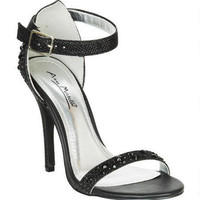 Evie Crystal Heel - Black