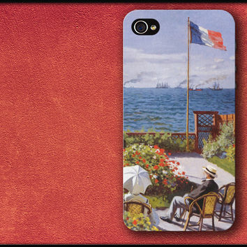 Terrace in France - Claude Monet Phone Case iPhone Cover