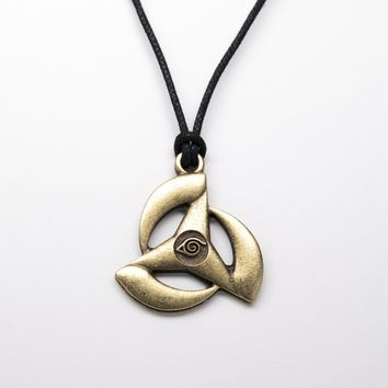 Naruto Unisex Necklace with Rope