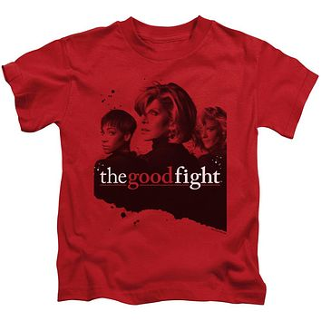 The Good Fight Boys T-Shirt Cast Red Tee