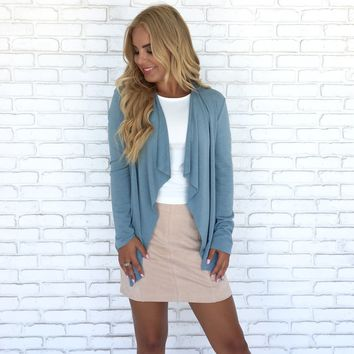 Breezy Feeling Wrap Cardigan