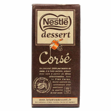 Dark Baking Chocolate Bar 65% Cocoa by Nestle 7 oz
