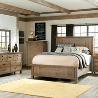 Brownstone Village Queen Panel Bed