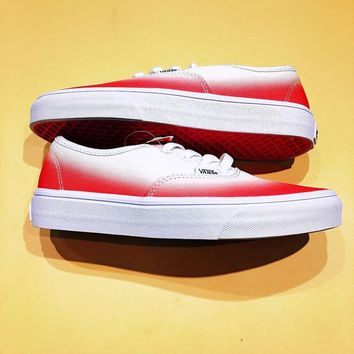 Vans Authentic ¡°Ombre Pink/True White¡± Sport Shoes Sneakers