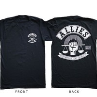 Unisex Allies T-Shirt : Revel & Riot LGBTQ merchandise and gay rights graphic t-shirts   Revel & Riot